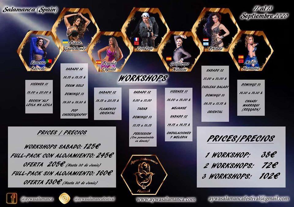 Información de los workshops